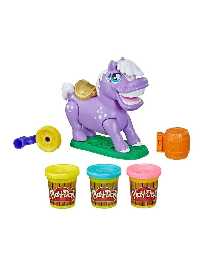 Animal Crew Naybelle Show Pony Farm Animal Playset with 3 Non-Toxic Colors image 2