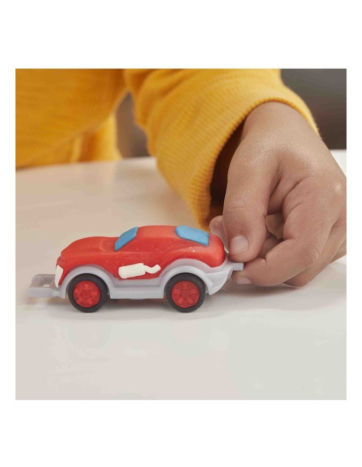 Wheels Tow Truck Toy for Kids 3 Years and Up with 3 Non-Toxic Play-Doh Colors image 6