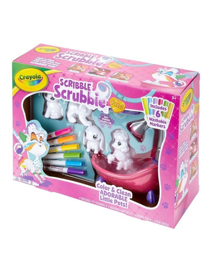 Scribble Scrubbies: Scrub Tub Playset image 1
