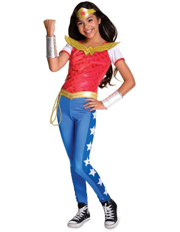 Superhero Girl Wonderwoman Deluxe Costume size 3-5 image 1
