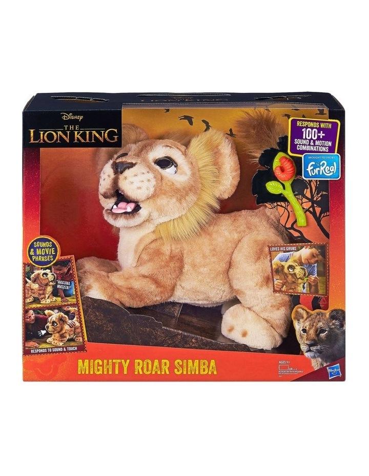 Disney The Lion King Mighty Roar Simba Interactive FurReal Plush Pet image 2