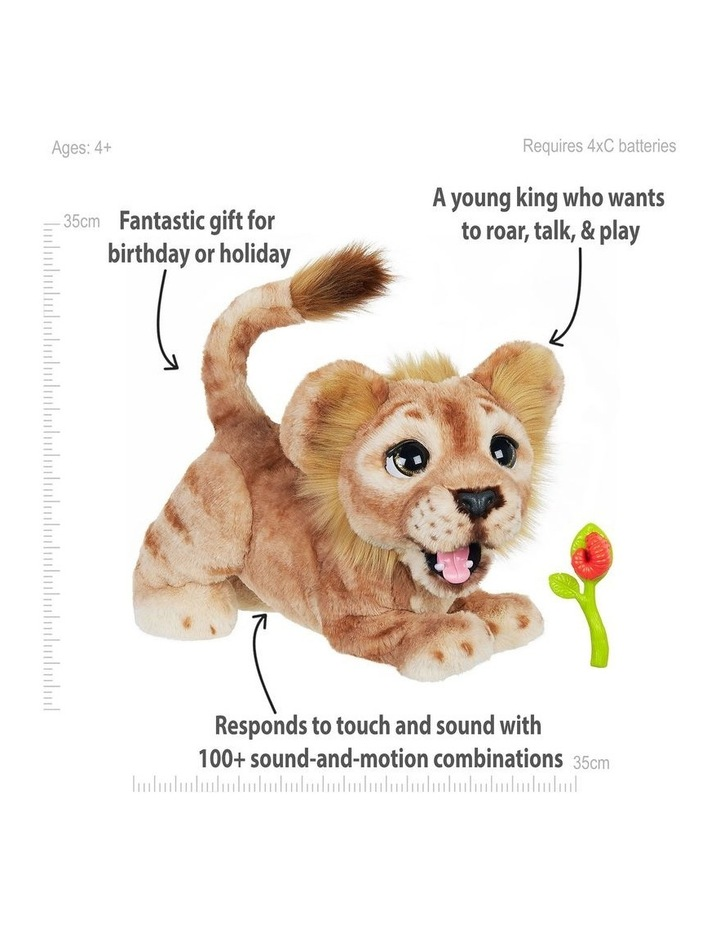 Disney The Lion King Mighty Roar Simba Interactive FurReal Plush Pet image 3
