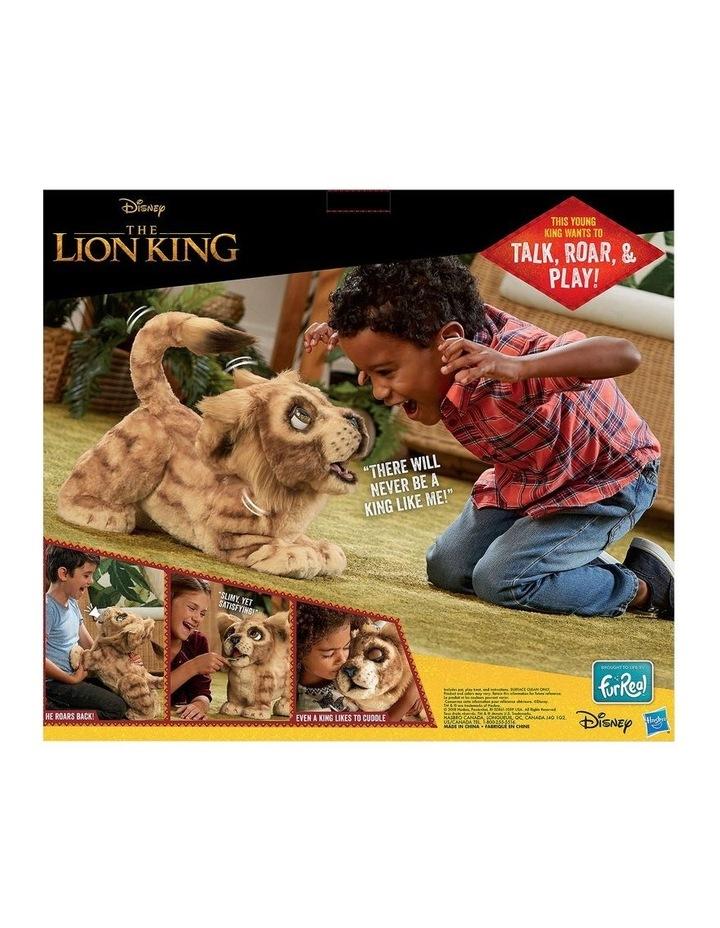 Disney The Lion King Mighty Roar Simba Interactive FurReal Plush Pet image 4