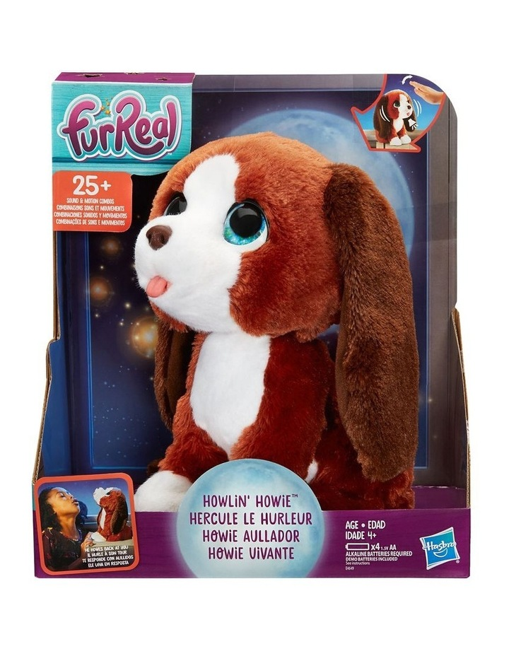 Howlin Howie Plush Pet Dog Doll - 25  Sounds & Motions Combinations image 3