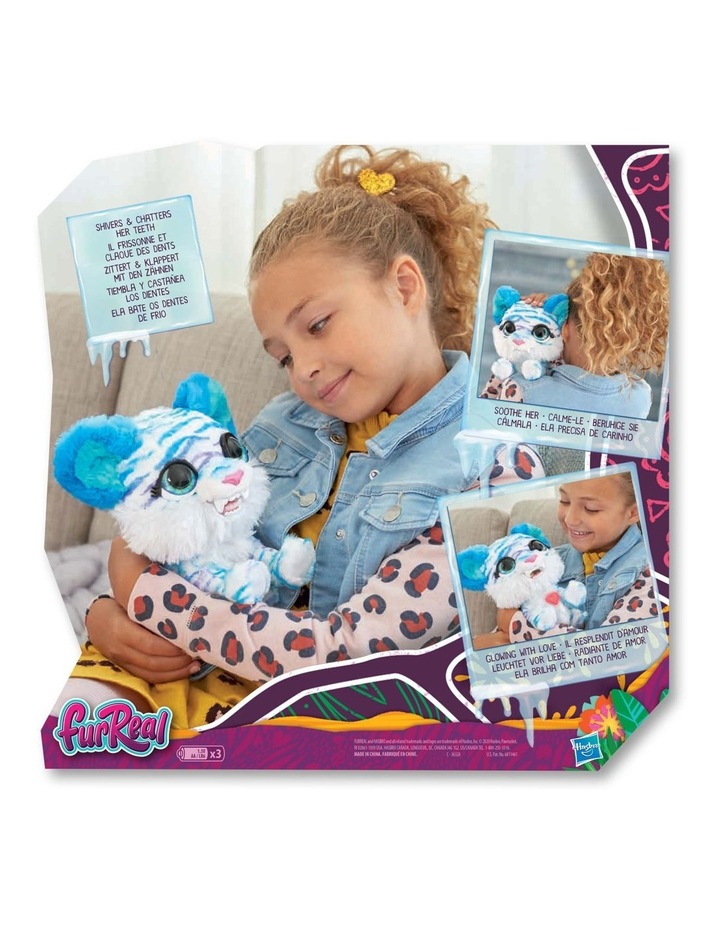 North the Sabertooth Kitty Interactive Pet Toy - 35  Sound & Motion Combinations image 3