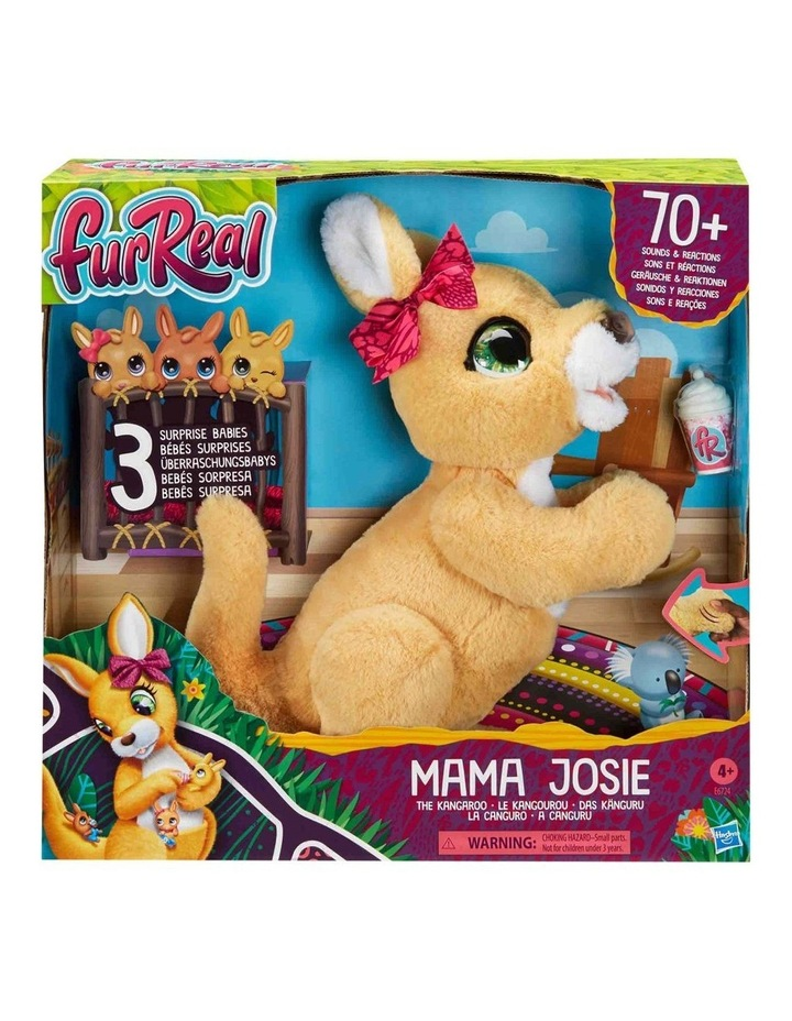 Mama Josie the Kangaroo Interactive Pet Toy -- 70  Sounds & Motions image 2