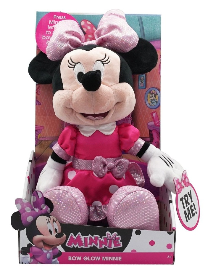 Minnie Bow Glow Plush image 1