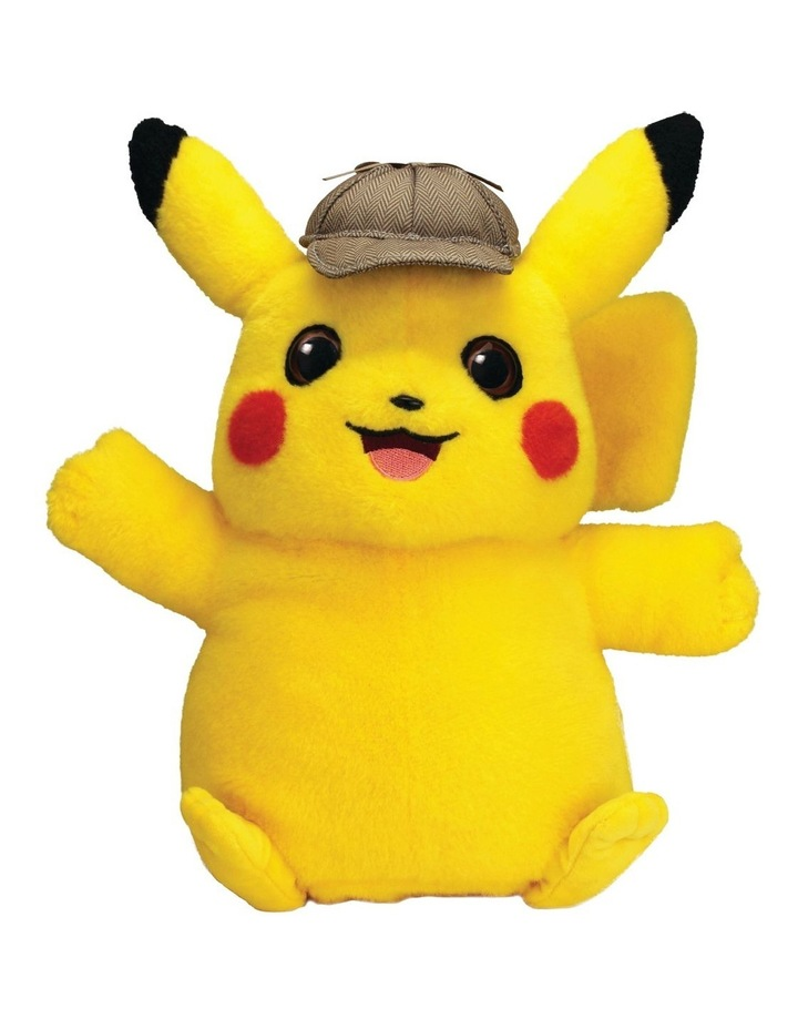 Detective Pikachu Feature Talking Plush image 2