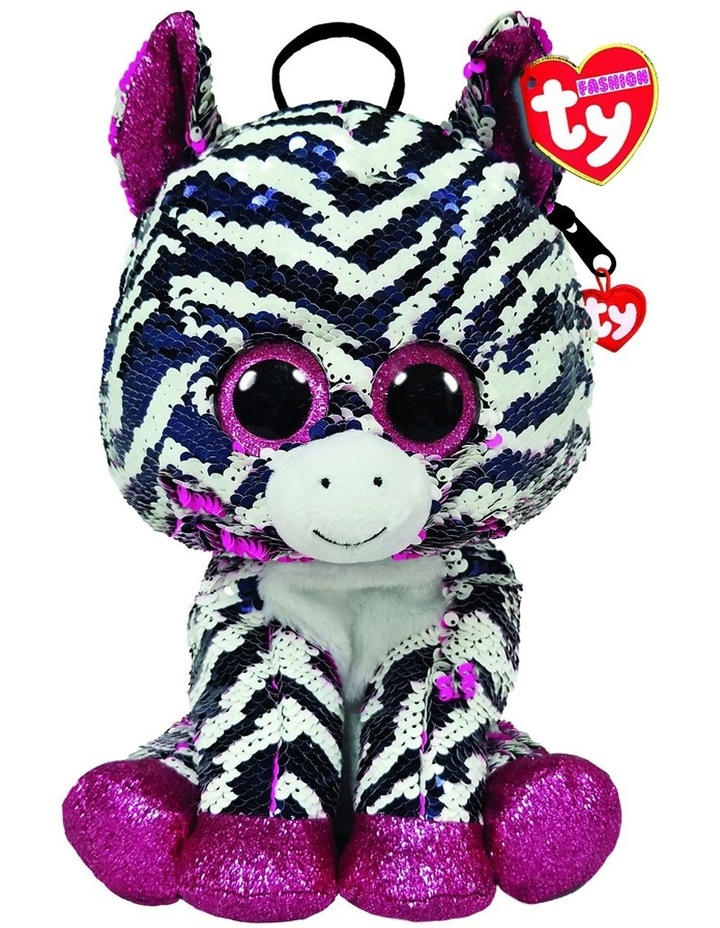 Fashion Sequin Backpacks Zoey Zebra image 1