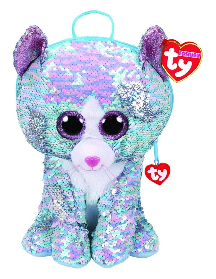 Fashion Sequin Backpacks Whimsy Cat image 1