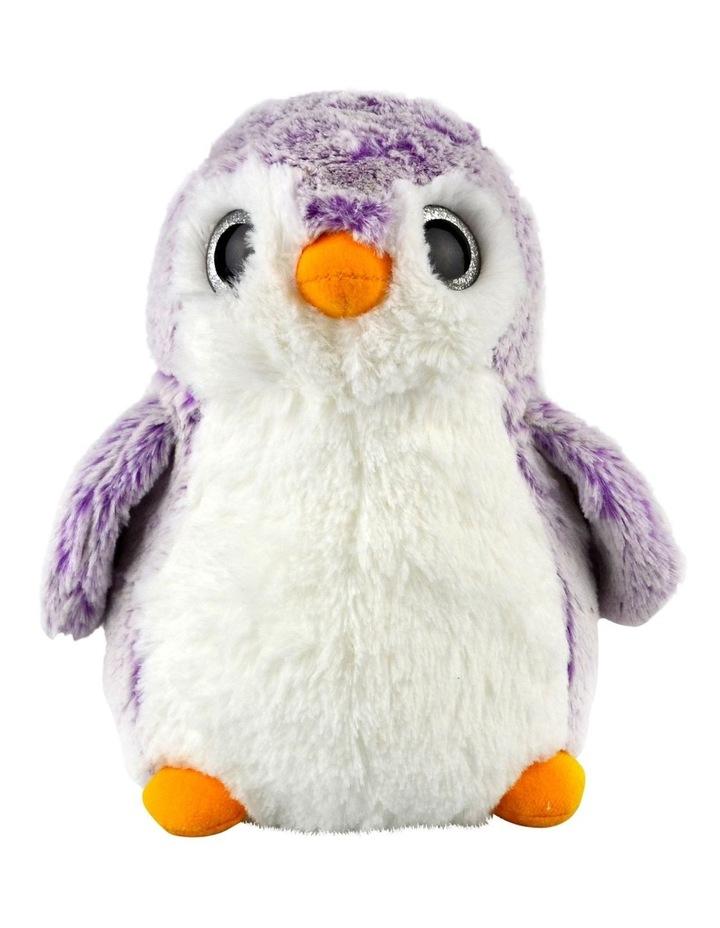 Penguin Sparkle Purple 23cm image 1