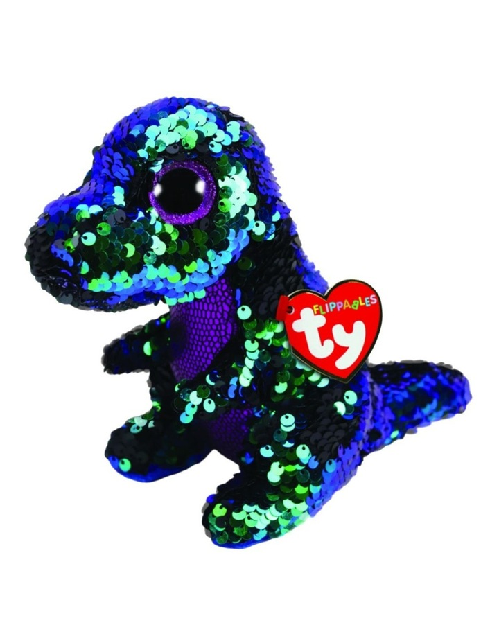 Ty Flippables Crunch the Dinosaur image 1