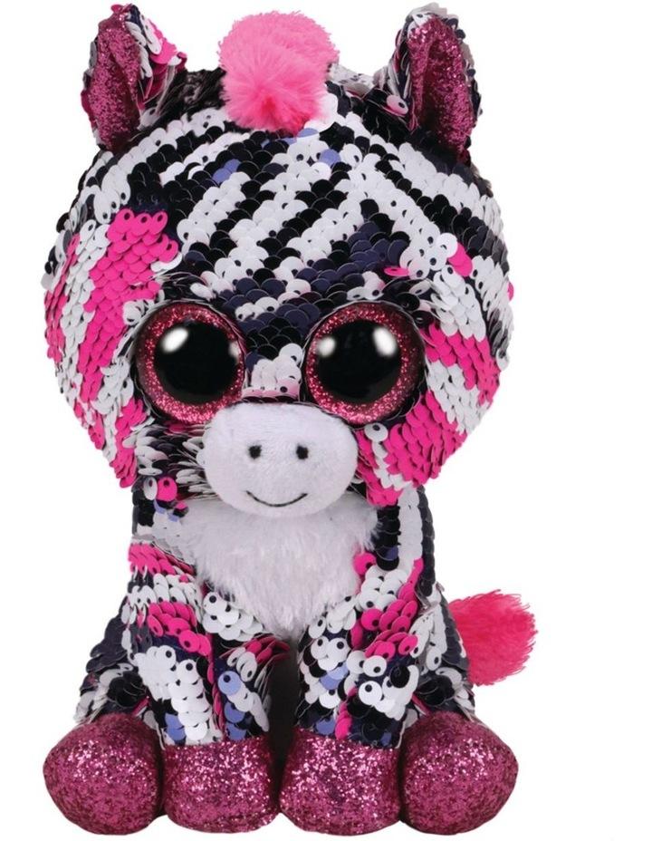 Ty Flippables: Regular Zoey Zebra image 1