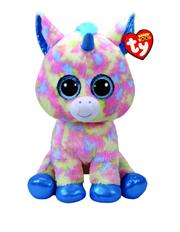 Beanie Boos - Large Blitz blue unicorn