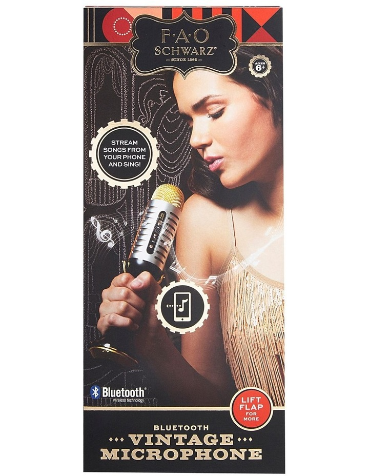 Musical Microphone Bluetooth image 1
