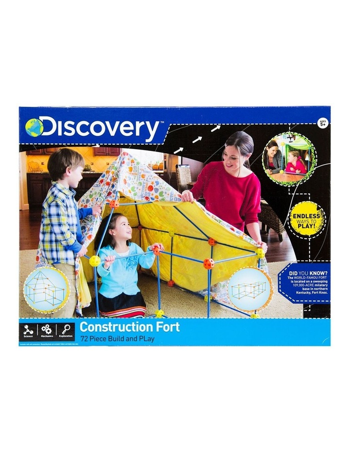 Toy Construction Fort 72pc image 2