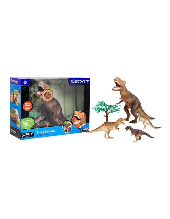Toy Dinosaur Set 5pc T-Rex image 2