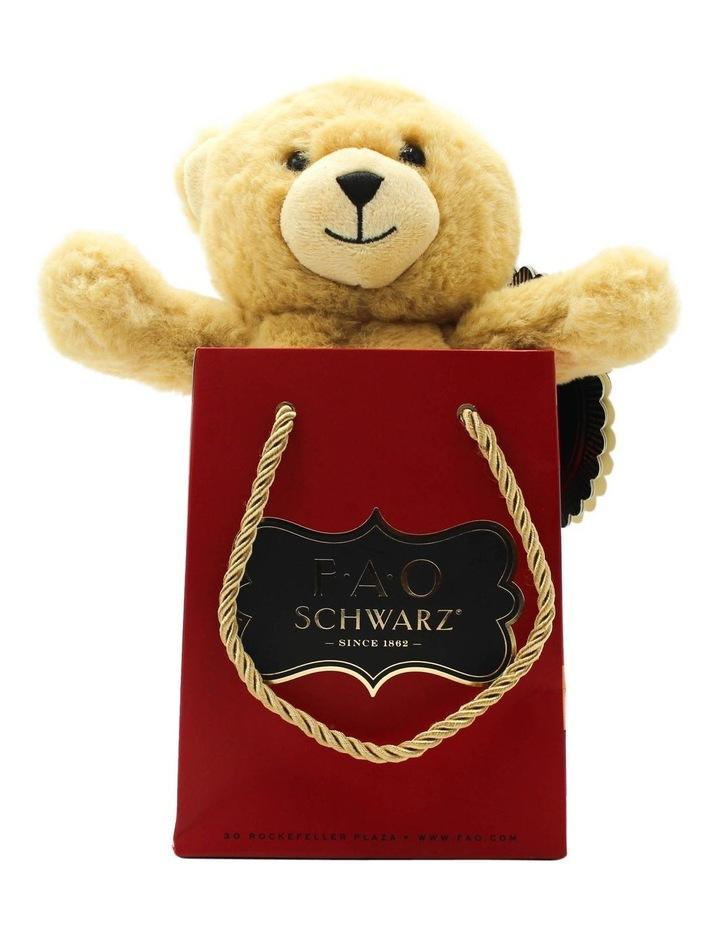 Toy Plush Bear in a Bag 7inch image 1