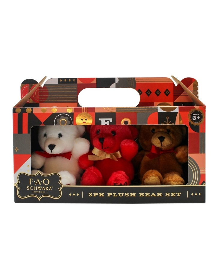Plush Mini Bears 3pack image 1