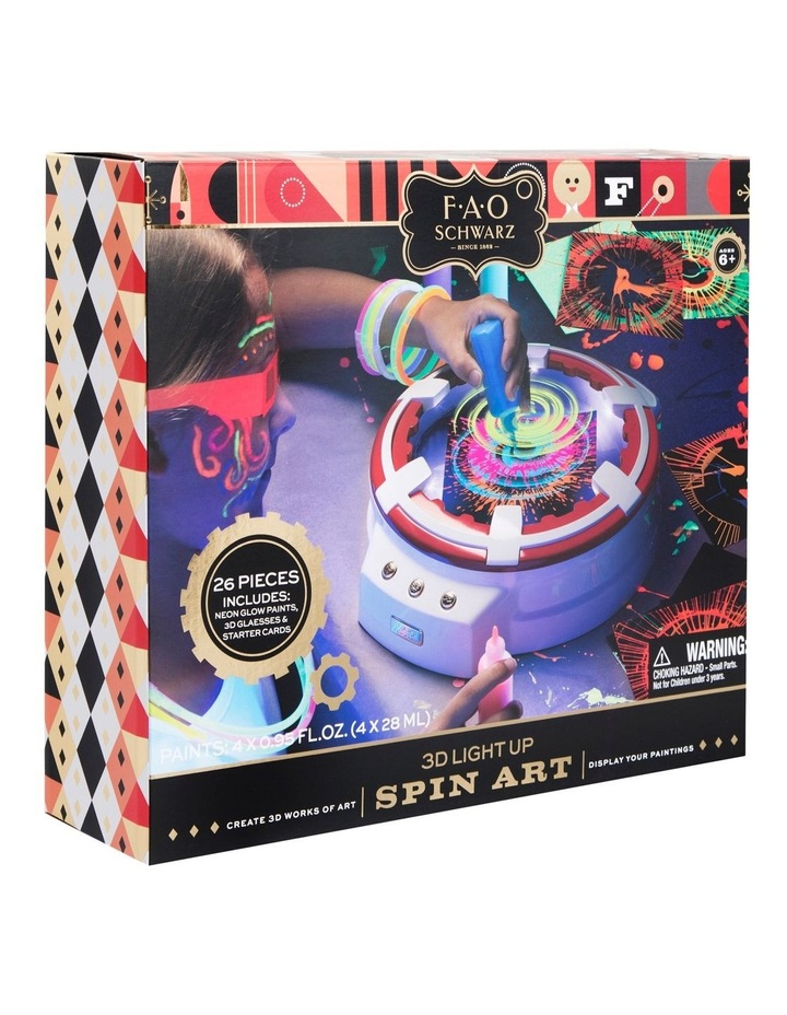 Toy Spin Art 3D with LED image 2