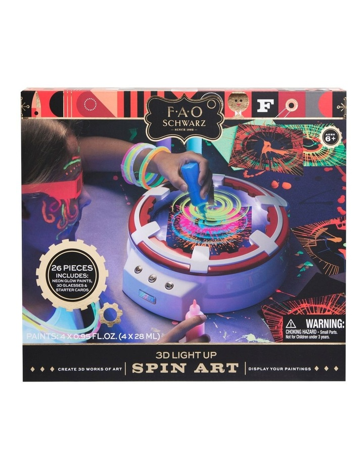 Toy Spin Art 3D with LED image 3