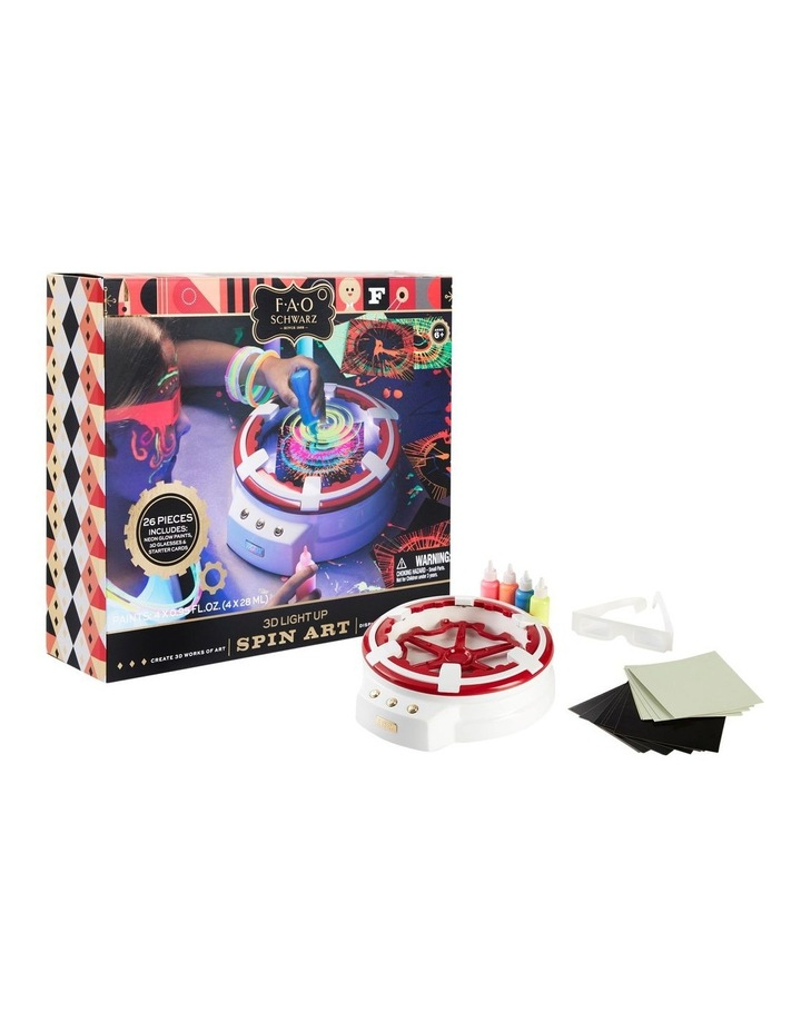 Toy Spin Art 3D with LED image 4