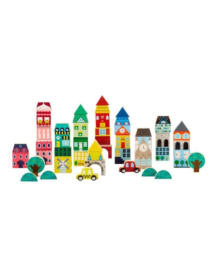 Toy Wood Blocks Printed 50pc image 2