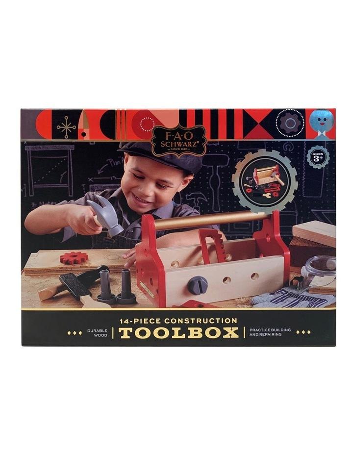 Toy Wood Tool Box Set image 1