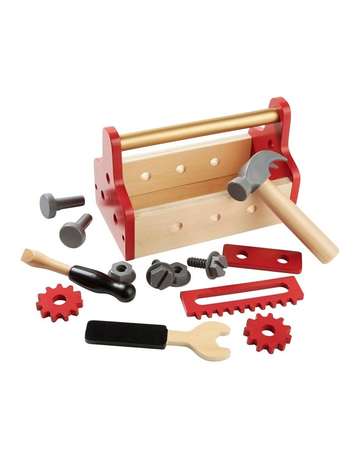 Toy Wood Tool Box Set image 2