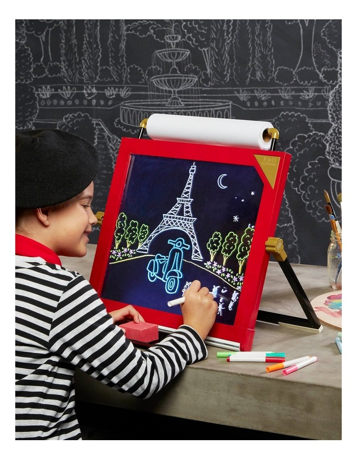 Toy Easel Tabletop LED 3in1 image 3