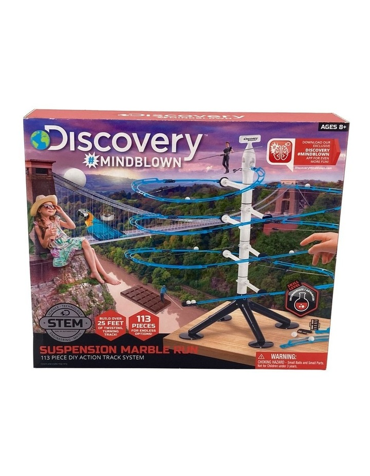 Toy Marble Run 113pc Suspension image 1