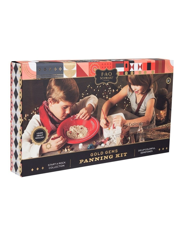 Toy Excavation Kit 2pk Gems and Gold Panning image 1