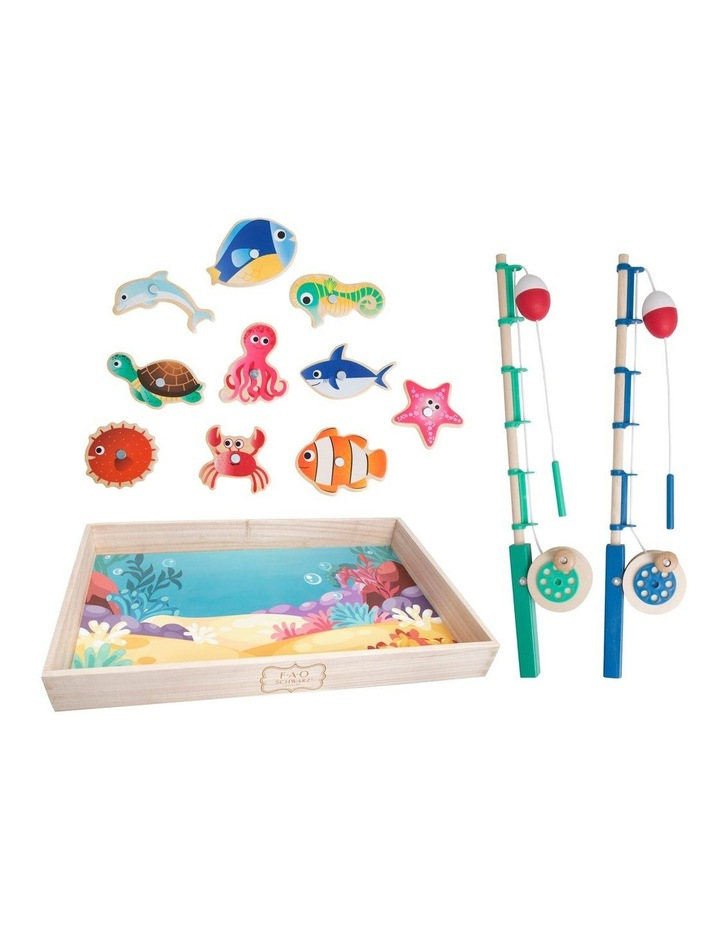 Toy Wood Fishing Set image 1