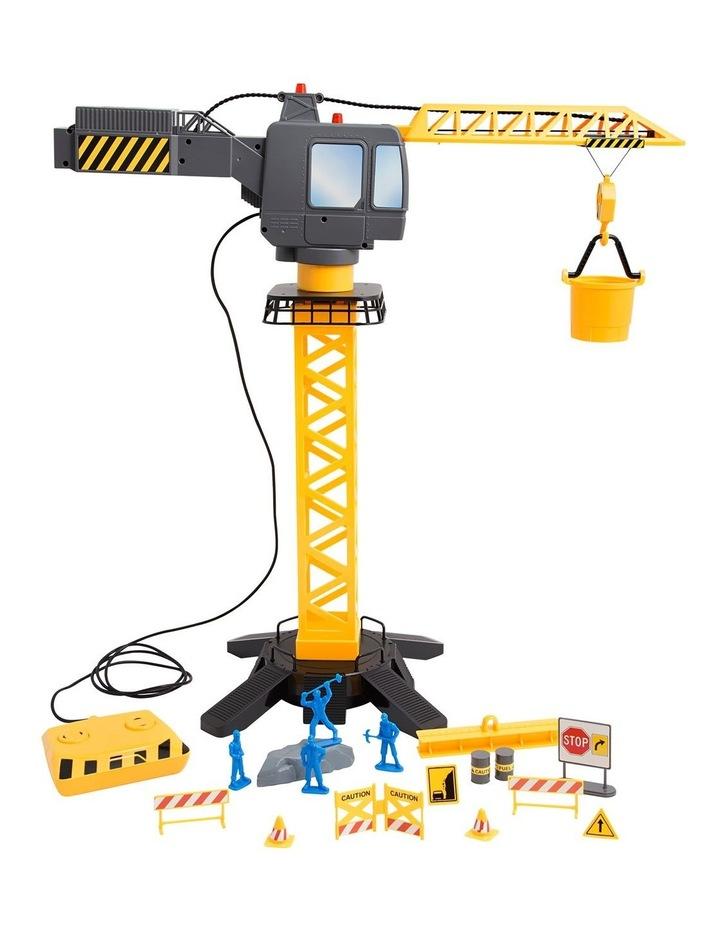 Toy Crane Tower Set Motorized image 1