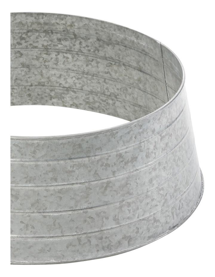 Eucalyptus 25inch Light Metal Grey Tree Skirt image 2