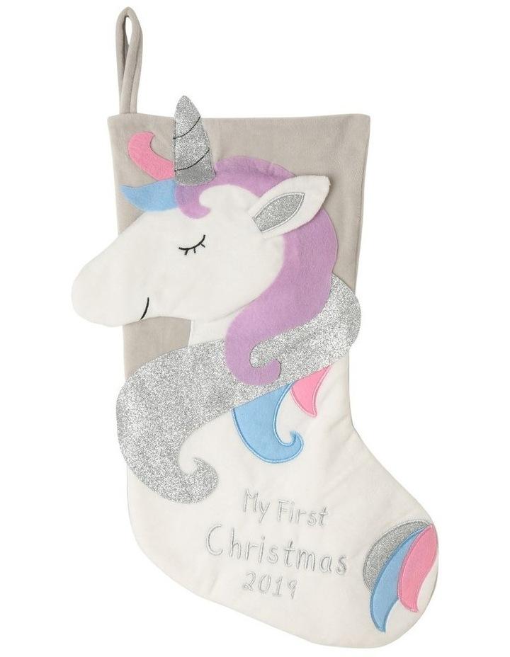 Baby's First Unicorn Stocking image 1
