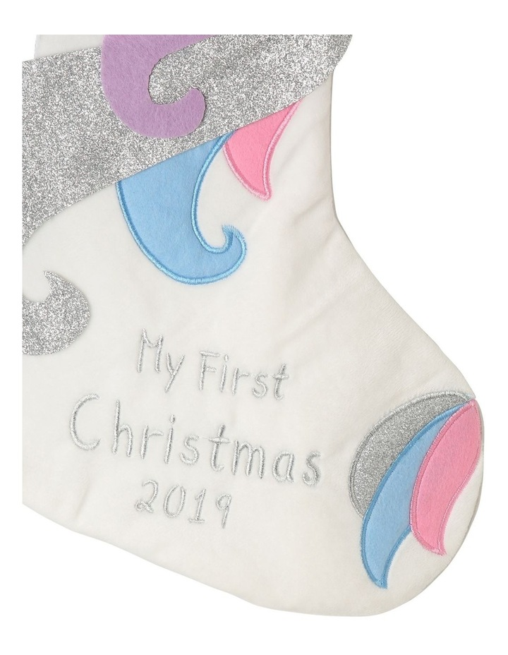 Baby's First Unicorn Stocking image 3
