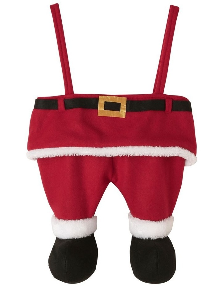 Heirloom Santa Dress Stocking image 1