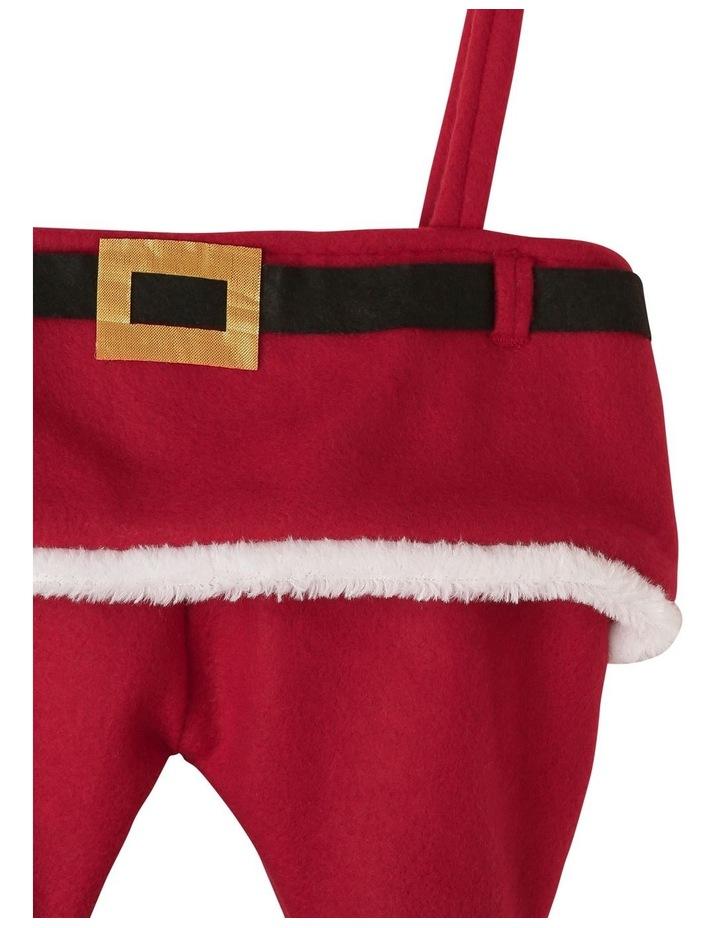 Heirloom Santa Dress Stocking image 2