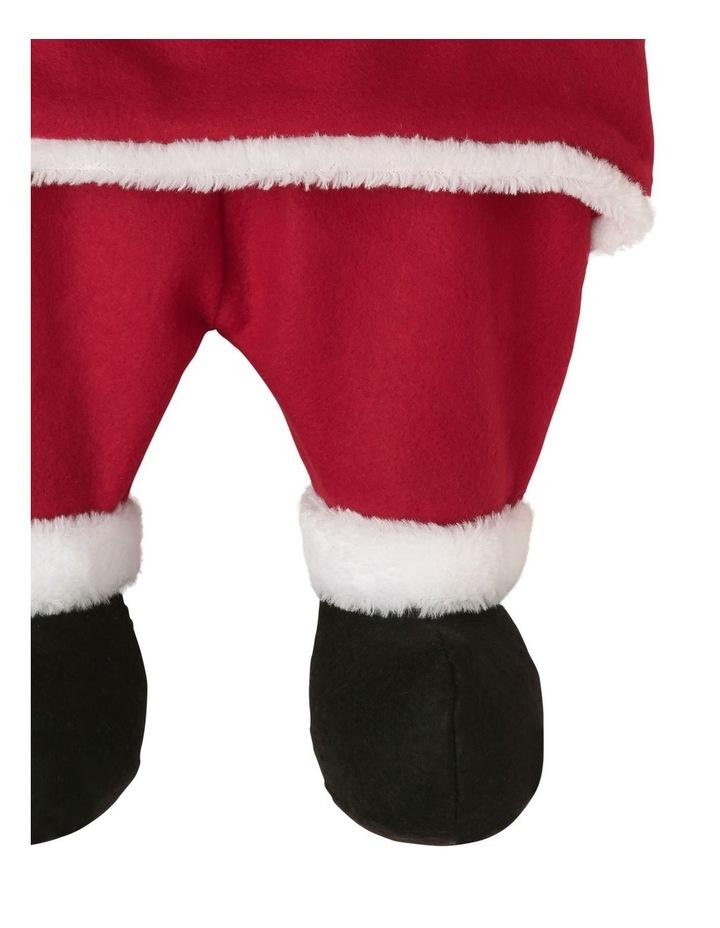 Heirloom Santa Dress Stocking image 3