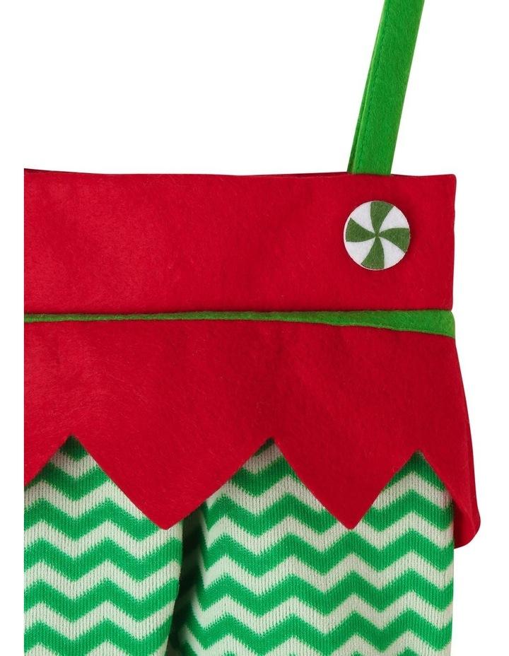 Heirloom Elf Bag Stocking image 2