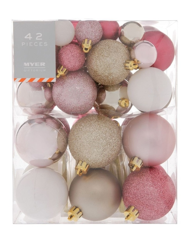 Luxe 42 Piece Baubles image 1