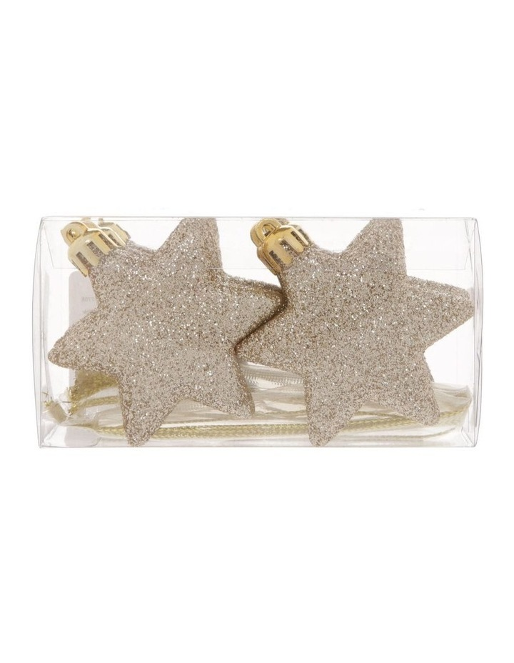 Luxe 8 Pieces - Champagne Glitter Star Pack image 1