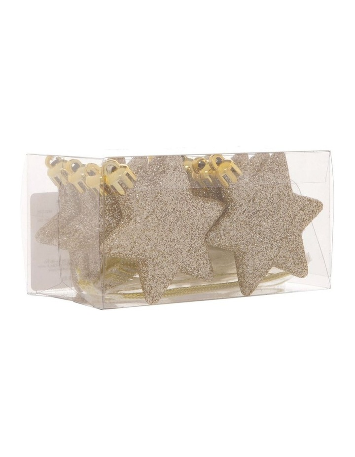 Luxe 8 Pieces - Champagne Glitter Star Pack image 2