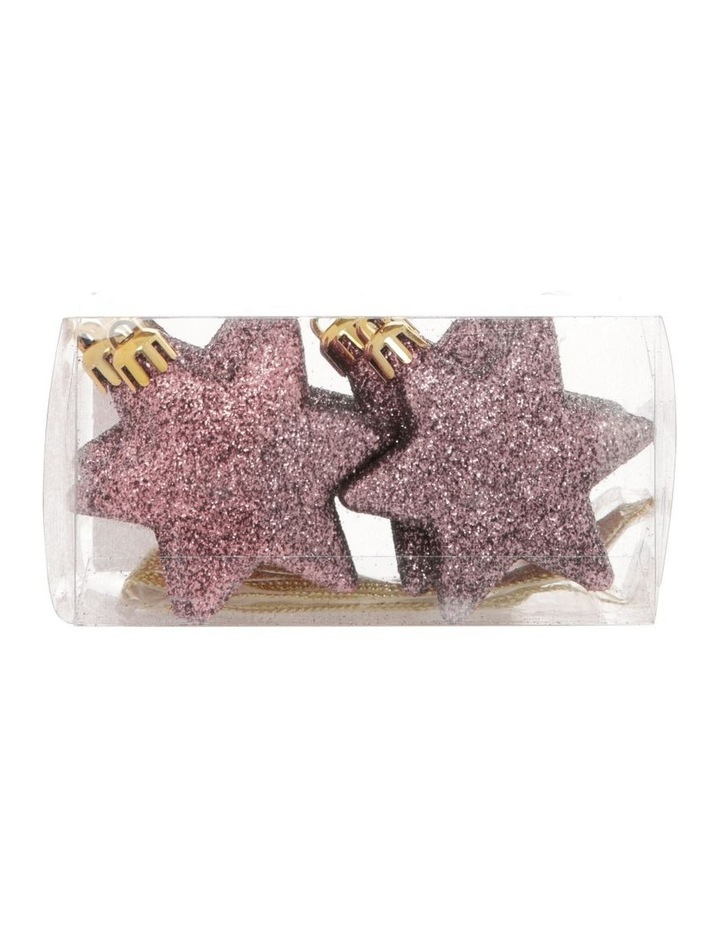 Luxe 8 Pieces - Pale Pink Glitter Star Pack image 1