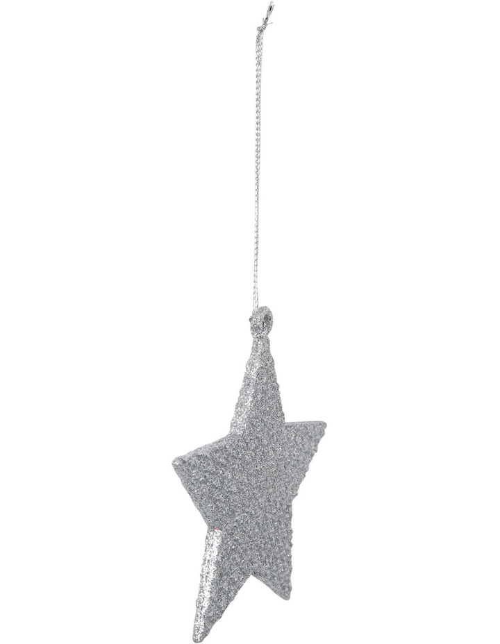 Eucalyptus Silver Glitter Star image 2
