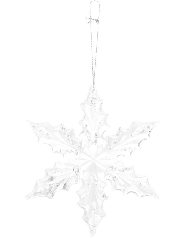 Luxe Acrylic Snowflake image 1