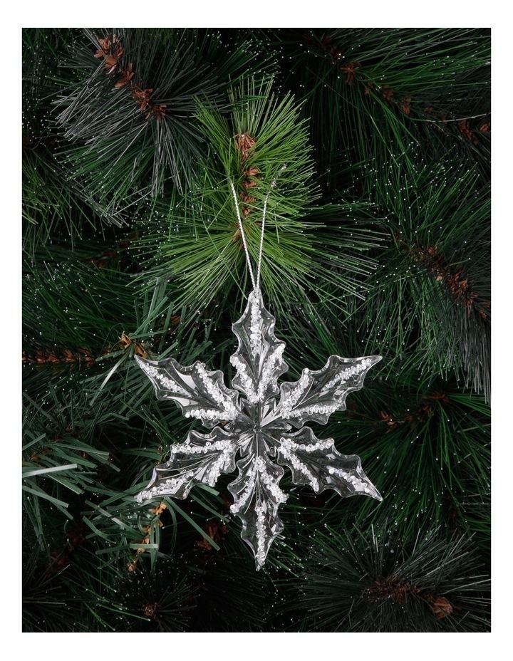 Luxe Acrylic Snowflake image 2