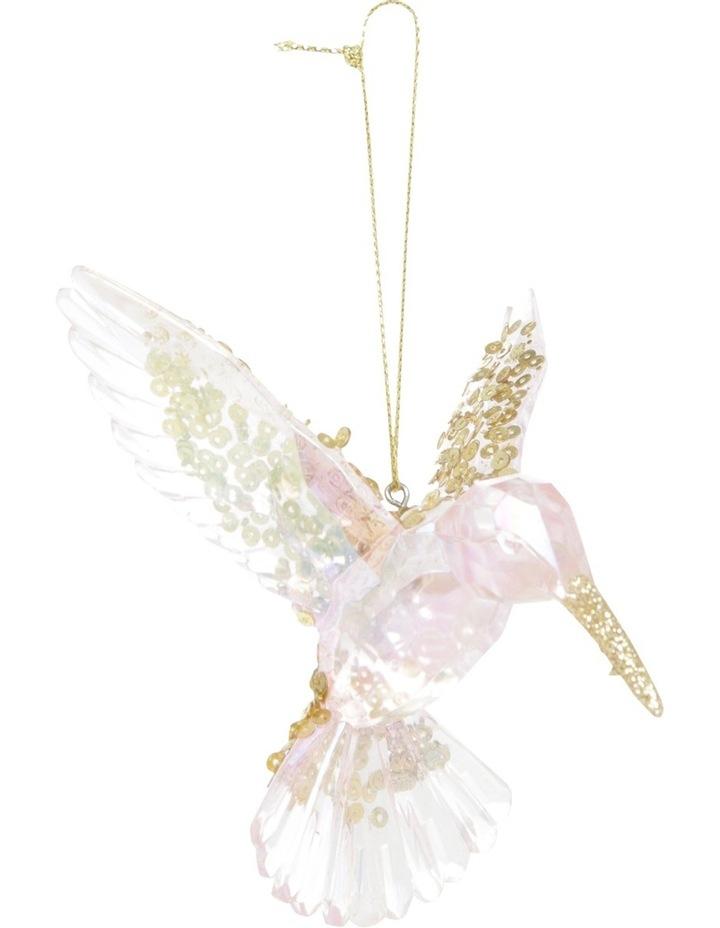 Luxe Pink and Gold Plastic Honeybird image 1