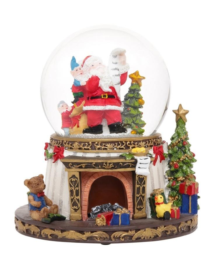 heirloom-18cm-led-resin-santa-decorative-base-musical-globe by myer-giftorium